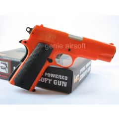 HFC 1911 Spring Action Orange Airsoft BB gun